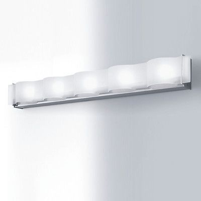How To Cover A Vanity Strip Light Cool Idea I Could Modify This