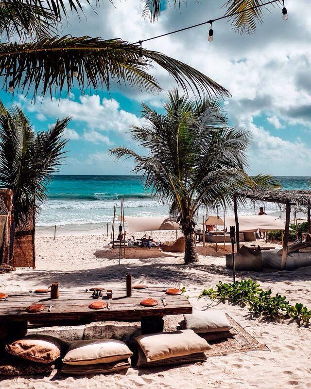 Rustic Chic I Wish I Was Here Travel Tulum Mexico Travel