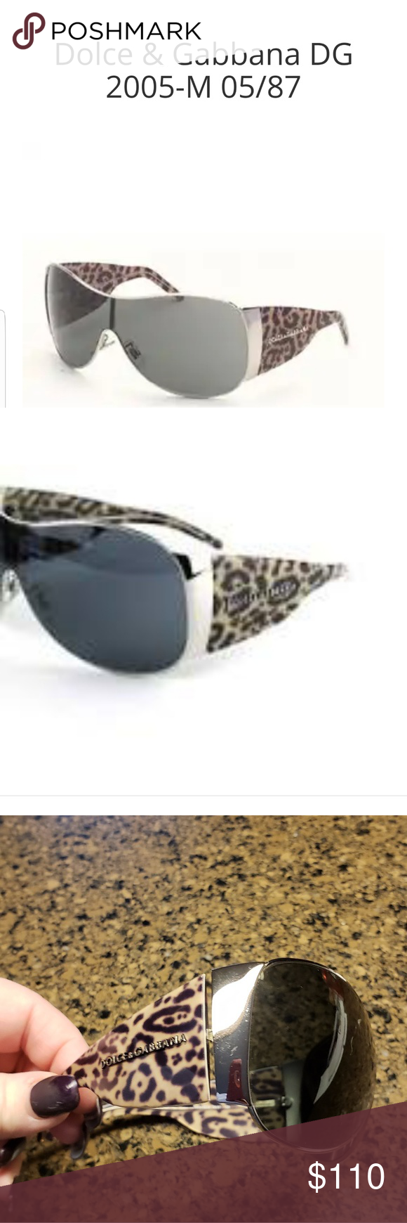 1a3638018464 Purchased from The Real Real. Fun and high fashion. Non smoking home. No  case. Dolce   Gabbana Accessories Sunglasses