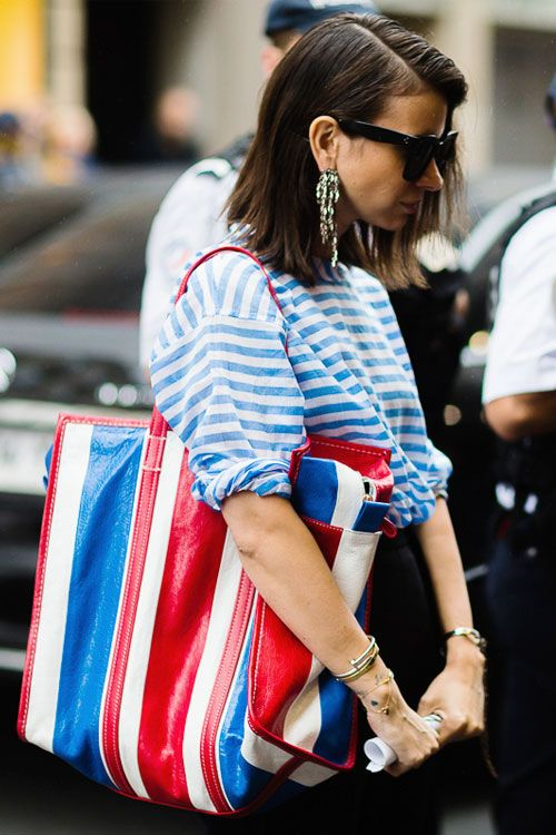 Style Crush: Balenciaga Bazar Shopper Totes | Balenciaga