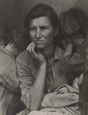 Moma Dorothea Lange Migrant Mother Nipomo California 1936 Migrant Mother Dorothea Lange Florence Owens Thompson