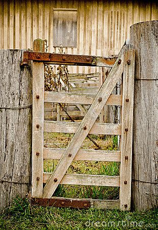 Old Farm Gate To Me Gates Are Definitely Part Of The