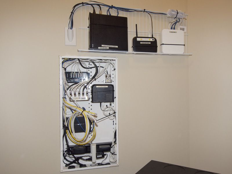 Image Result For Home Networking Closet Home Network Structured Wiring Home Automation