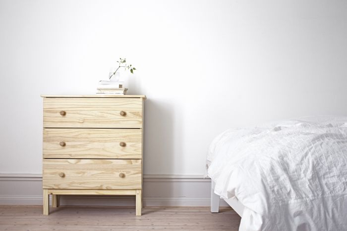 Ladekast Slaapkamer Hout : Tarva ladekast 3 lades grenen slaapkamers pinterest kast