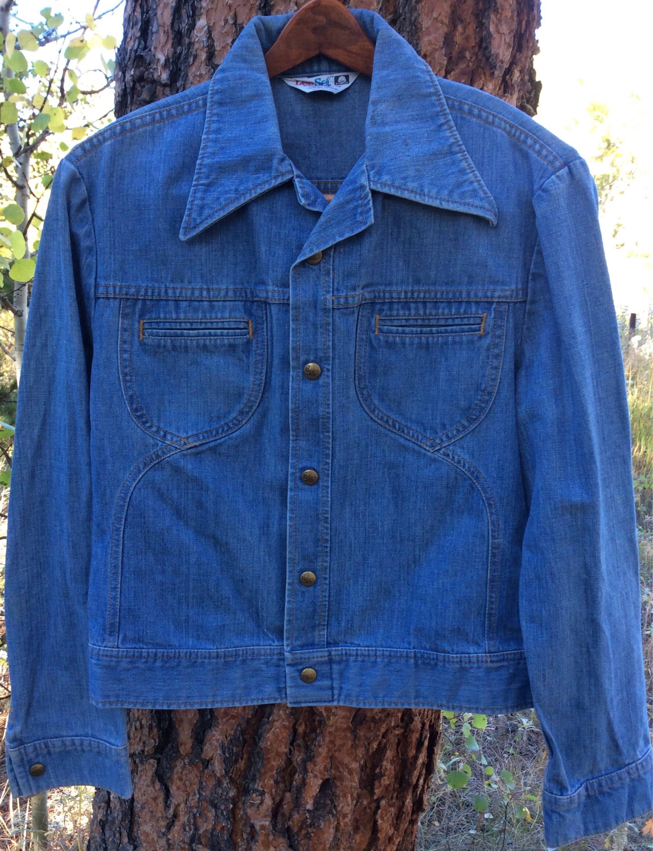 Vintage Lee Denim Jacket 1970 S Denim Jacket 70 S Hippie Jacket Denim Rocker Jacket S M Denim Jacket Women Lee Denim Jacket Vintage Denim Jacket [ 3000 x 2302 Pixel ]