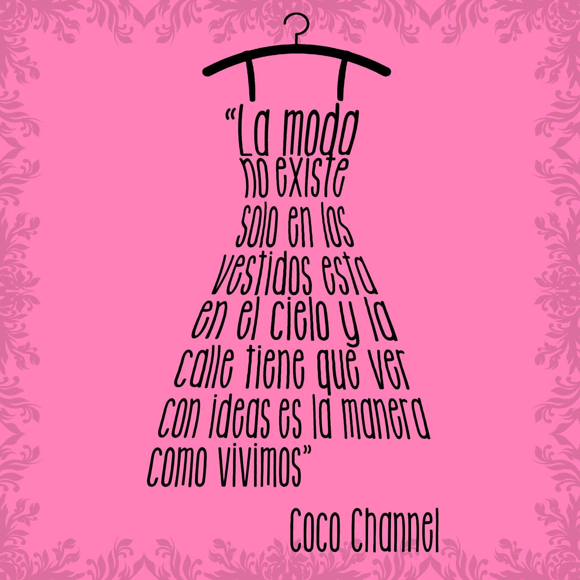 Coco Chanel Wall Stickers Frases De Coco Chanel Frases De Moda Pinterest Coco