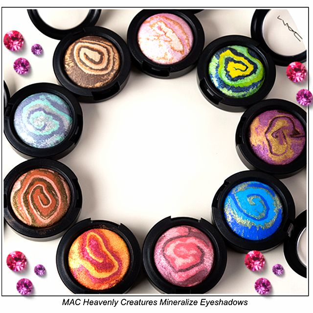 MAC Heavenly creatures mineralize eyeshadows!!!! I got one of these... which one? ;)