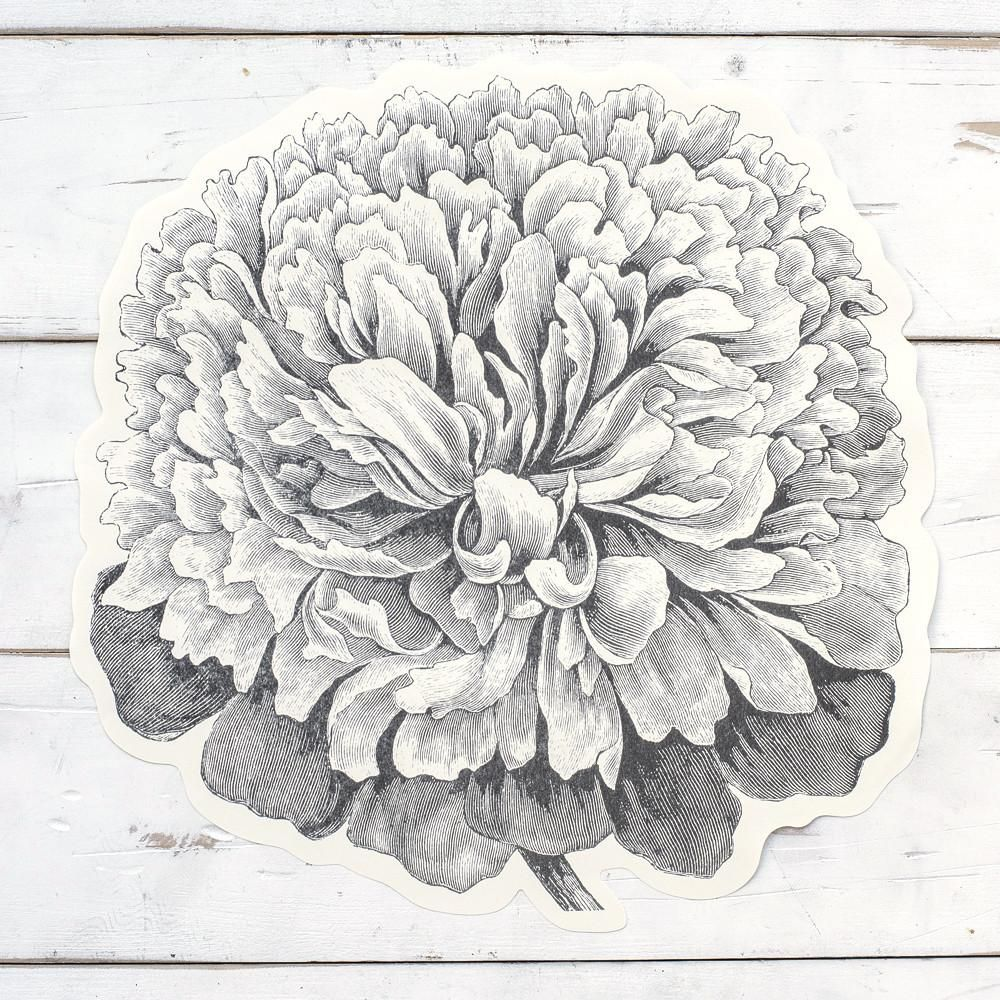 peony placemat sheets