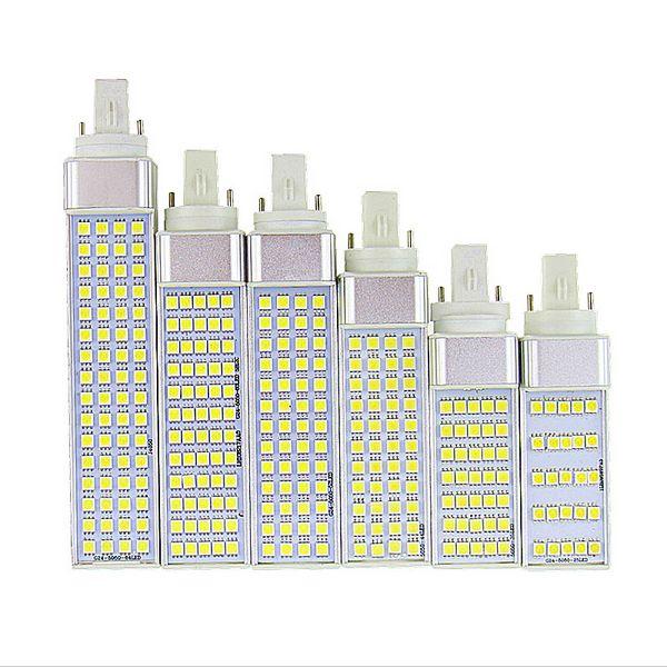 Ikeacasa Lampada G23 G24 E27 5w 7w 9w 11w 13w 15w 85v 265v Ac Horizontal Plug Lamp Smd5050 Bombillas Led Pl Corn Bulb Spot Light Ce Rohs Bulb Led Plugs