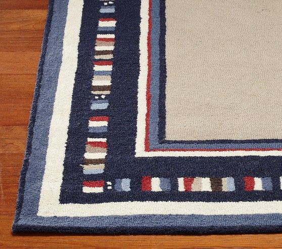 Hudson Rug Navy Blue Pottery Barn Kids Pottery Barn