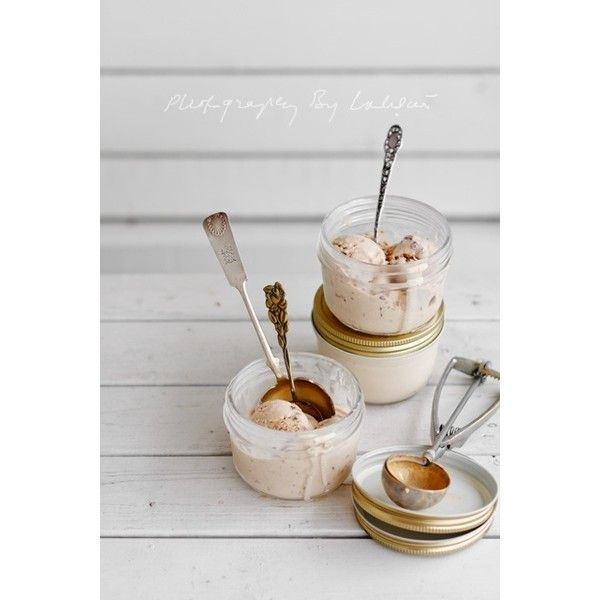 Pecan Ice-cream ❤ liked on Polyvore