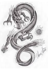 Dibujos De Perros A Lapiz Faciles De Hacer Buscar Con Google Tatuajes De Dragones Japoneses Dragones Tatuaje De Dragon
