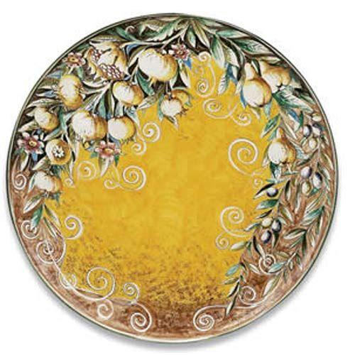 Ornato Fruit with Olives Round Platter