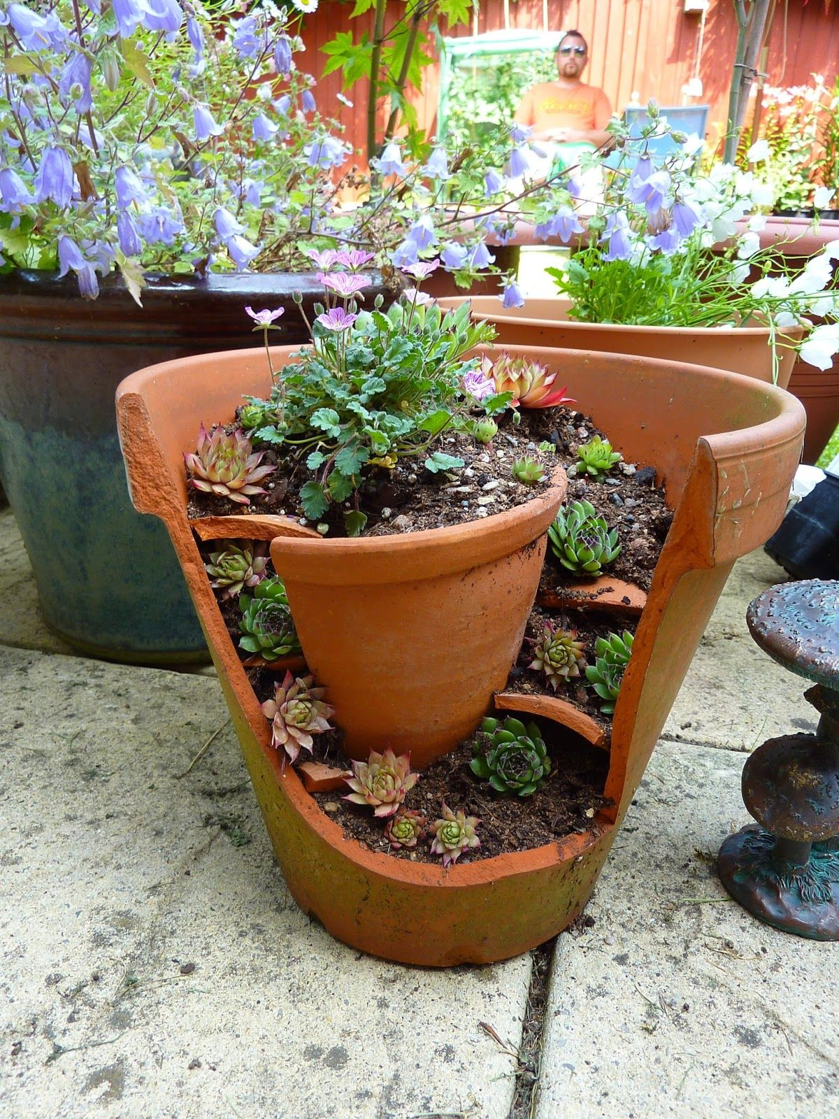 these 39 broken pots mini garden ideas will blow your visitors away 35 is - Flower Garden Ideas In Pots