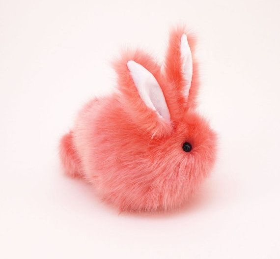 Easter gift stuffed animal cute plush toy bunny kawaii plushie easter gift stuffed animal cute plush toy bunny kawaii plushie coral the super soft bunny rabbit cuddly faux fur toy medium 5x8 inches negle Choice Image