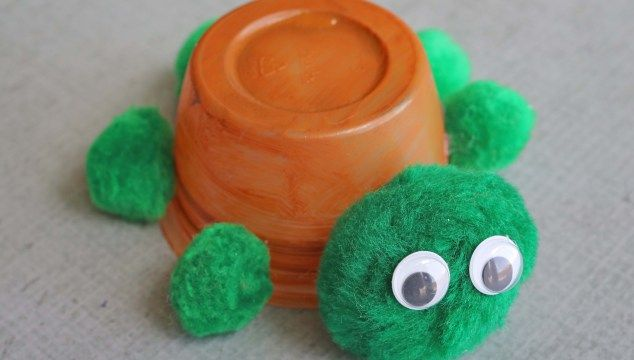 Recycled Cup Turtle – Kid Craft
