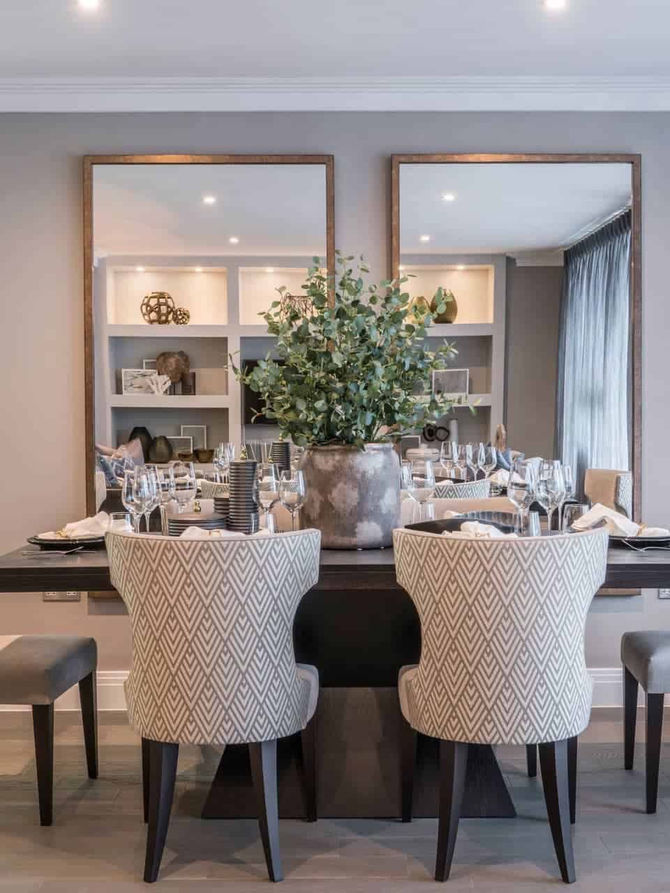 Dining Room Mirror Decor, Dining Room Table Ideas Uk