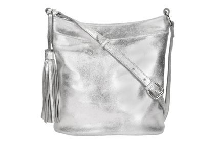 7a0716d1b39e Leather Bags - Topsham Grove in Silver Metallic from Clarks shoes ...