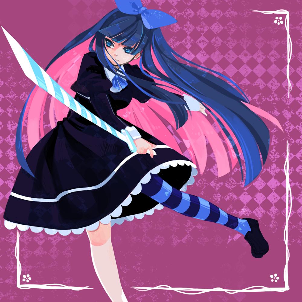 Stocking Panty And Stocking Anime Anime School Girl Anime