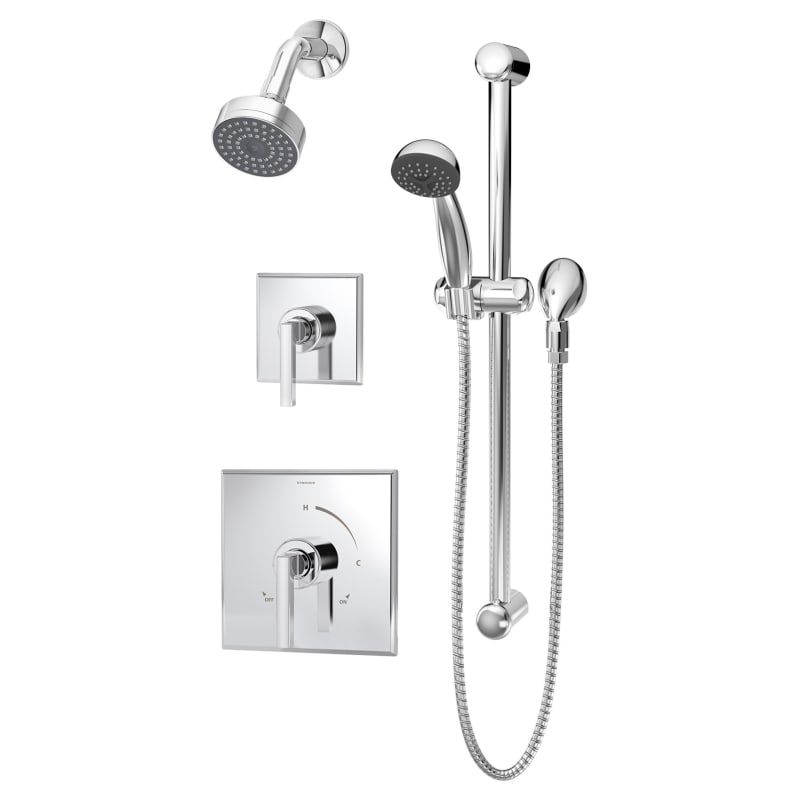 Symmons 3605 H321 V 1 5 Duro 1 5 Gpm Single Function Shower Head