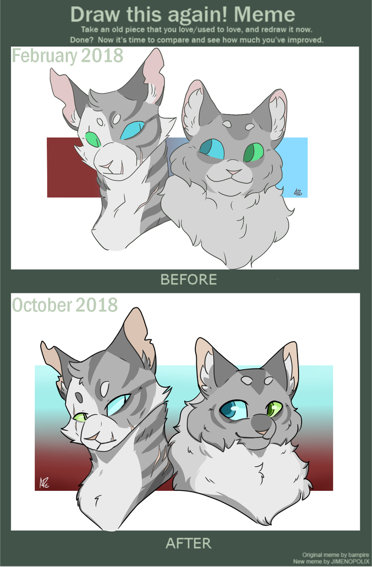 Draw This Again Ivy And Dove By Shegananigans Warrior Cats Comics Warrior Cat Memes Warrior Cats Funny