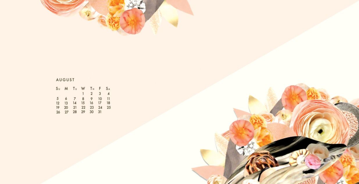 August 2018 Desktop Calendar For Background Jpg 1 235 632 Pixels Desktop Calendar Calendar Wallpaper Calendar