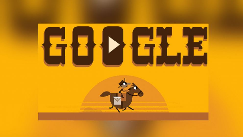 Google Doodle Celebrates 155th Anniversary Of The Pony Express With A Game Google Doodles Doodle Online Pony Express