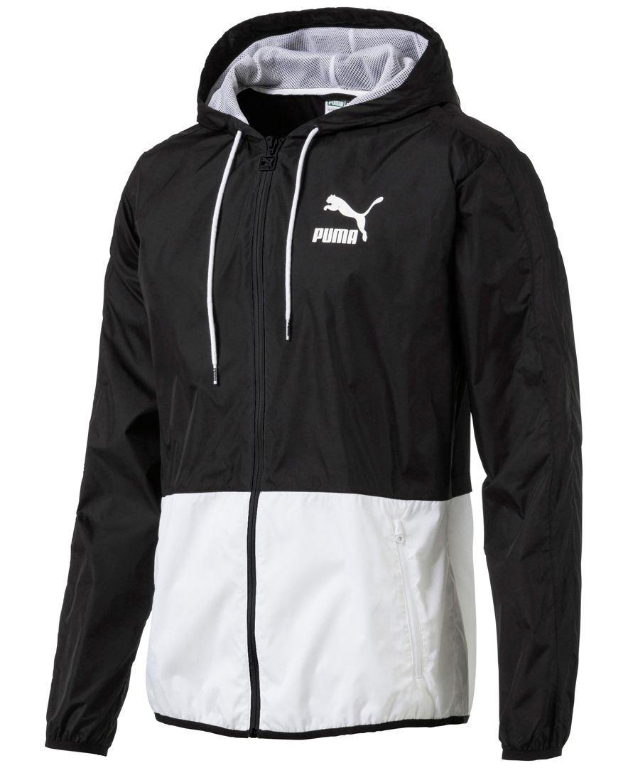 Puma Men S Archive T7 Windbreaker Mens Outdoor Jackets Sporty Jacket Activewear Jackets [ 1080 x 884 Pixel ]