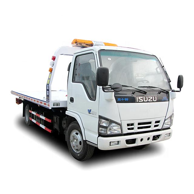 Isuzu 5 Ton Tow Truck Wrecker Fuel Truck Tow Truck Reverse Gear