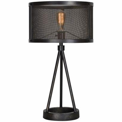 Livingstone Table Lamp Black Table Lamps Industrial Table Lamp Tripod Table Lamp