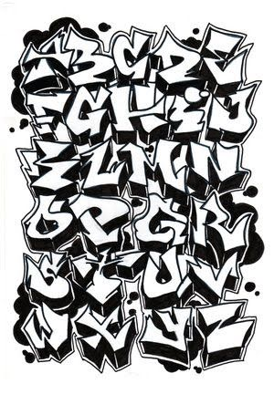 3d Graffiti Letters A Z Graffiti Letters Graffiti Alphabet