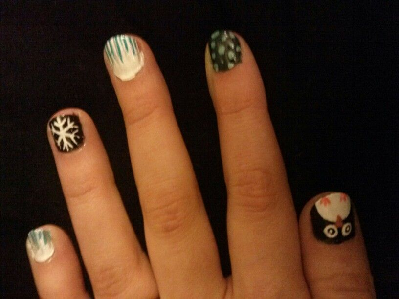 My winter nails