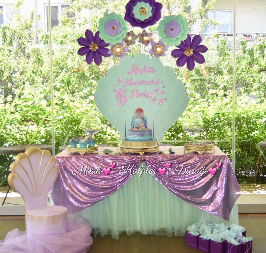 Party Deko Unterwasser Die Kleine Meerjungfrau Feiert Geburtstag