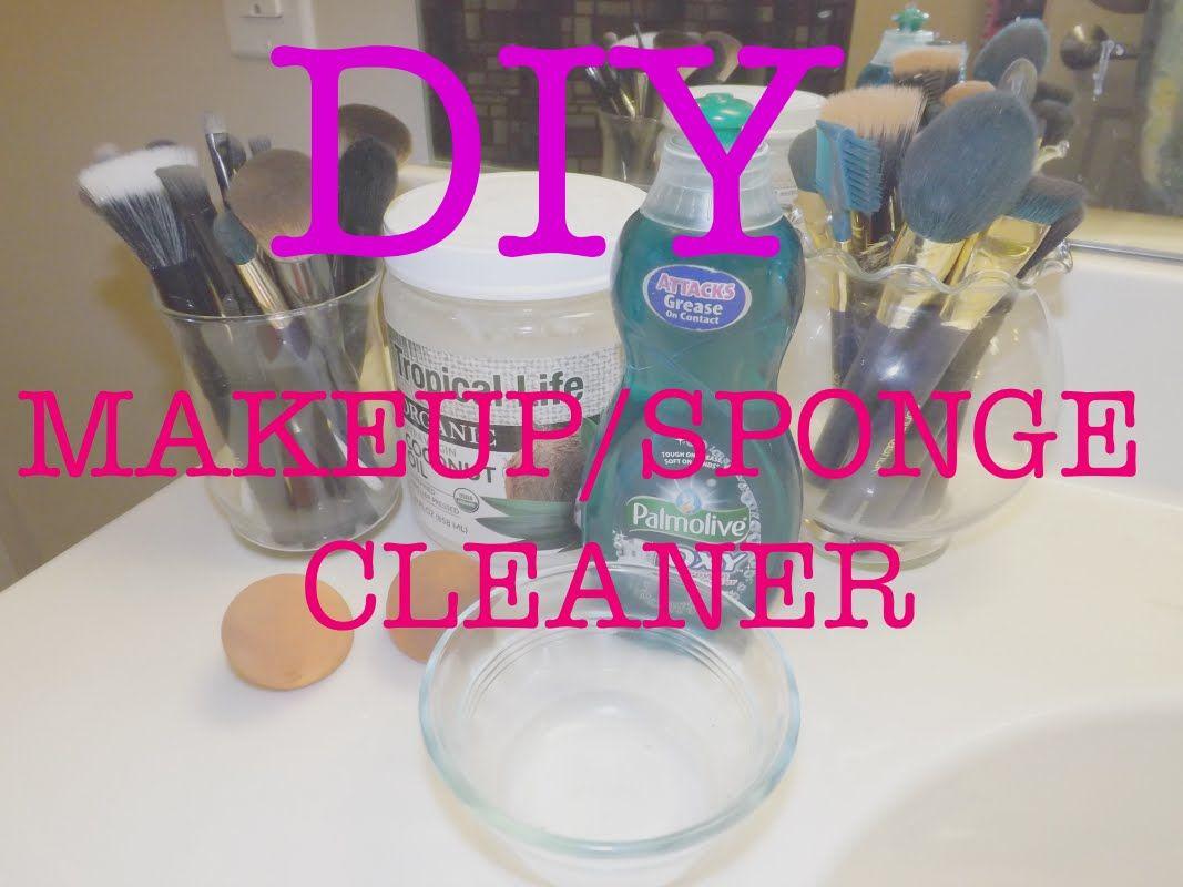 DIY makeup brush beauty sponge cleaner Diy makeup