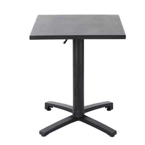 Tavolo da giardino professionale in metallo nero, 60 cm ...