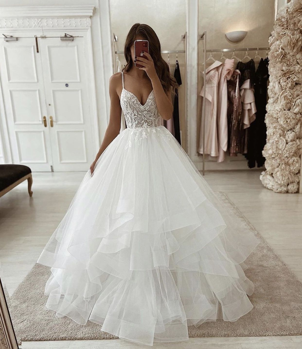 Pin by Sarah on wedding in 12  Dream wedding dresses, Ball