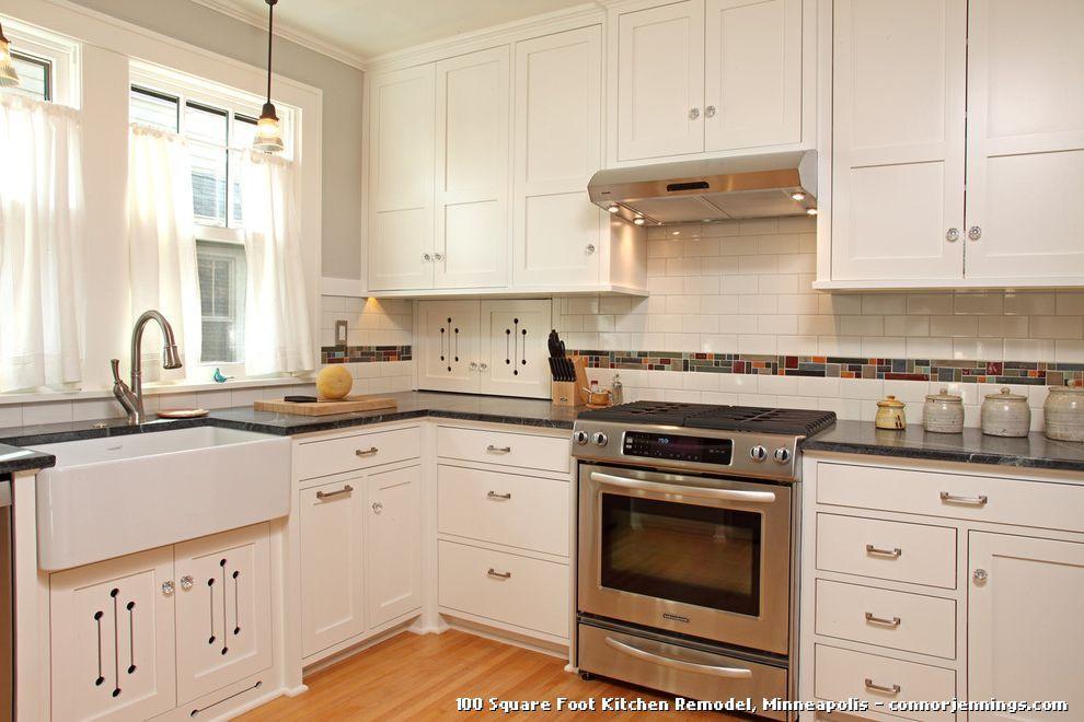 100 Square Foot Kitchen Remodel By David Heide Design Studio