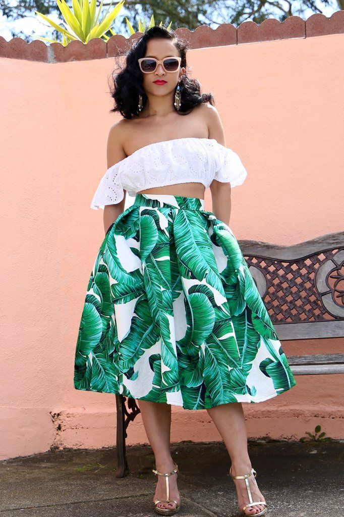 e0cd97a02 MADE TO ORDER: The Palms Spring Midi Skirt | Sunday Best | Fashion ...