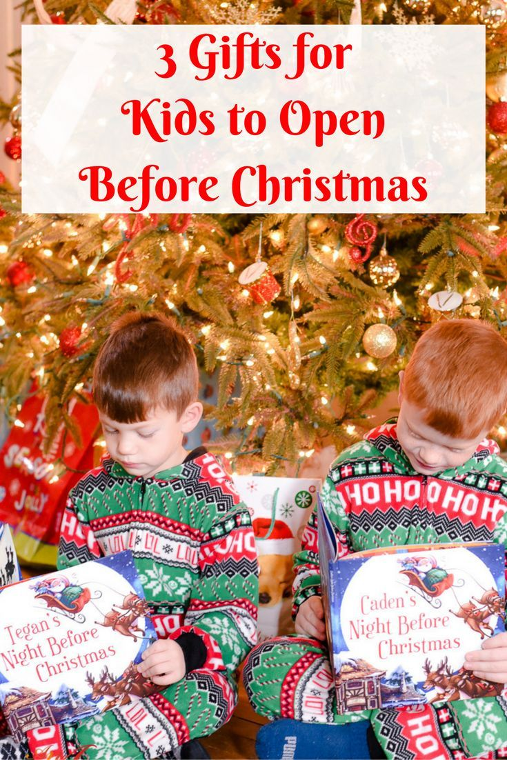 Three Gifts for Kids To Open Before Christmas | Christmas & Winter ...