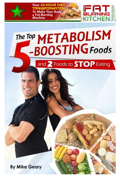 The Fat Burning Kitchen PDF, EBook By Mike Geary. Download Complete Program  Through This