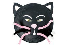 Paper plate cat mask  sc 1 st  Pinterest & Masks for Kids to Make | Cat mask Masking and Paper plate masks