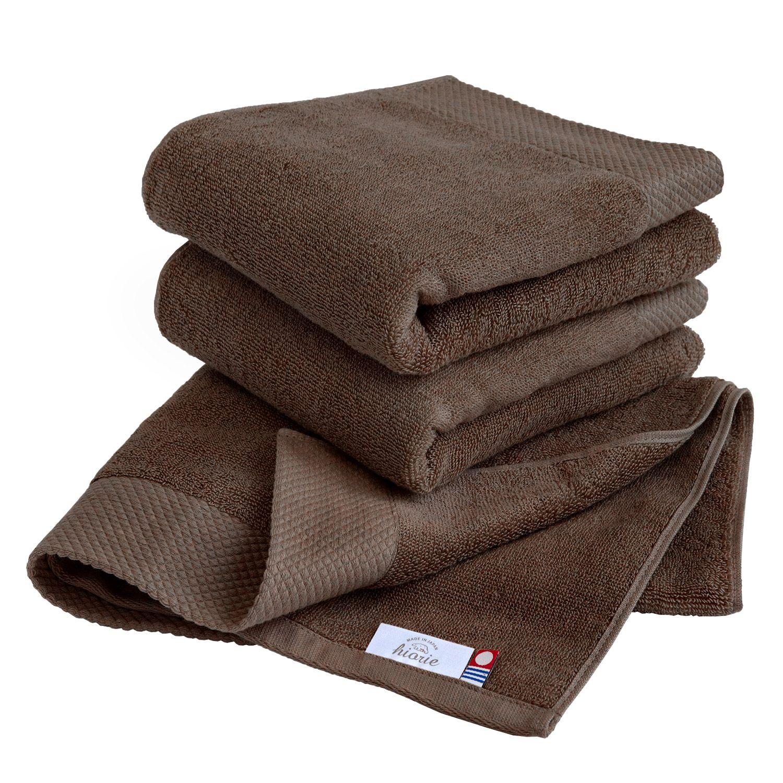 Hiorie Hotel Soft Bactericidal Water-Absorption Bath Towel 2 Sheet Cotton Japan