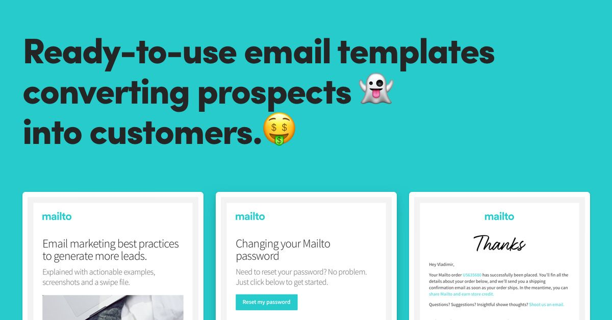 Ready-to-use Email Templates for Mailchimp and SendGrid - seo contract template