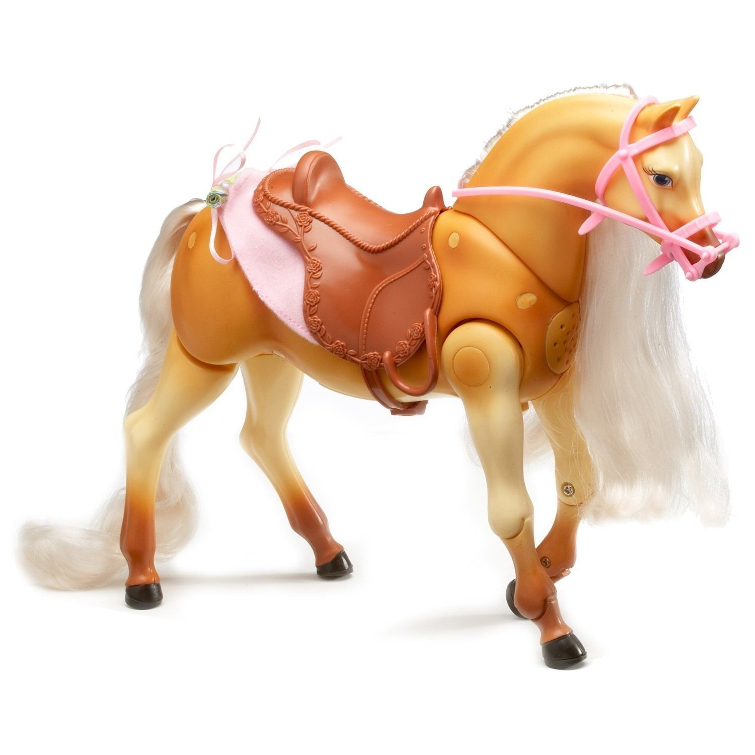 2006 Barbie Forever Tawny 10 Inch Walking and Neighing Horse Mint