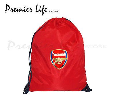 #Arsenal fc gym #bag/sack,  View more on the LINK: http://www.zeppy.io/product/gb/2/201376086600/