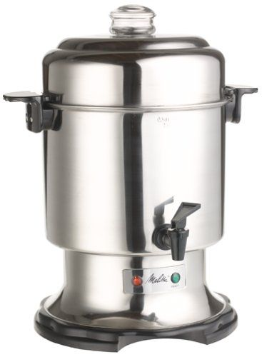 Melitta Meu45 45 Cup Percolator Coffee Urn A Special Product Just For You See It Now Coffee Maker Coffee Urn Percolator Coffee Melitta Coffee Maker