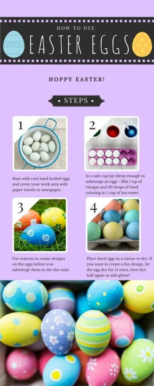 How to Dye Easter Eggs  Easter