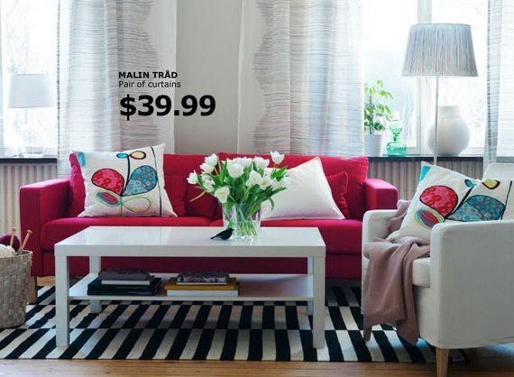 Ikea Living Room Catalogue Red Couch Living Room Red Sofa