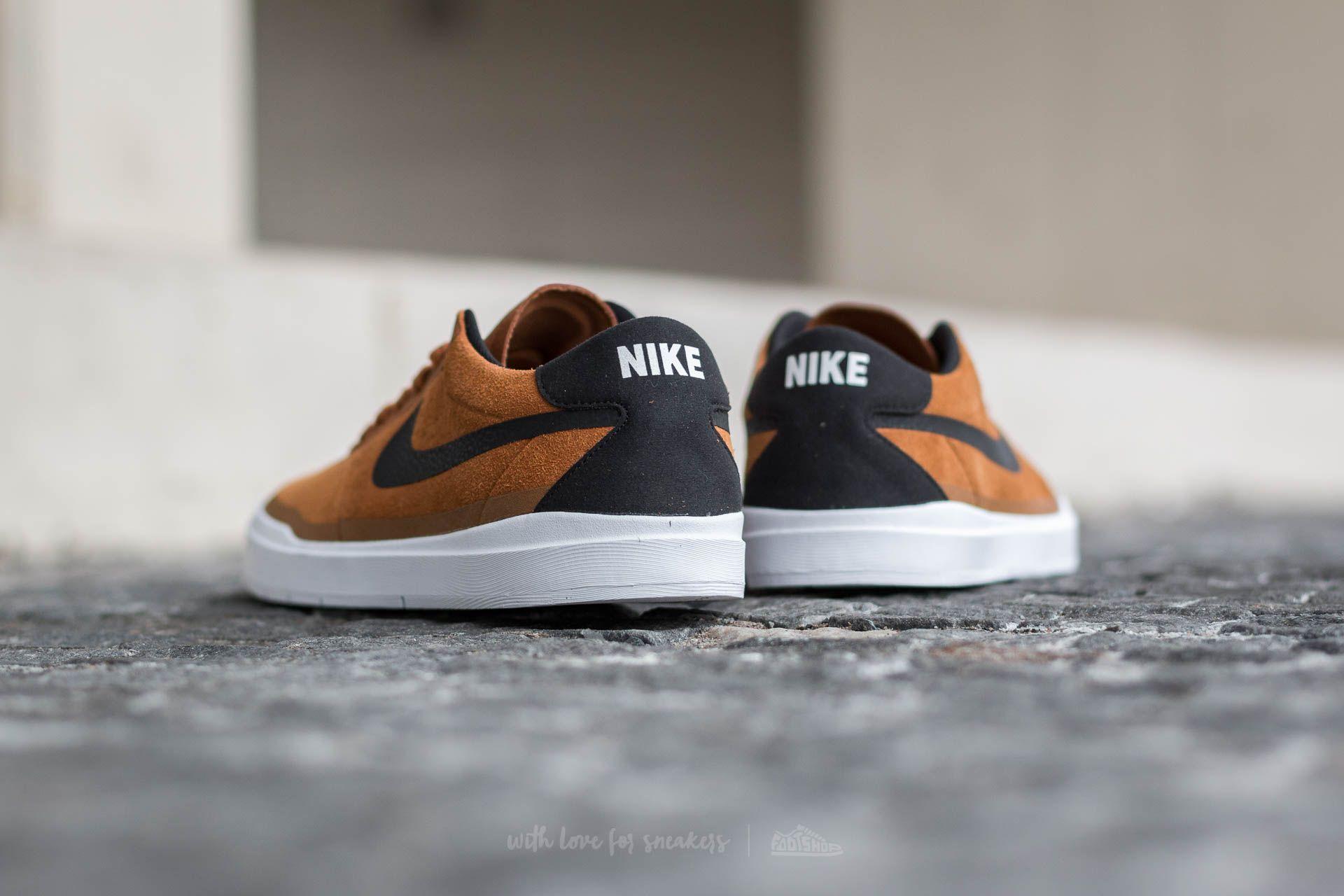 fuego Autorización Joven  Nike Bruin SB Hyperfeel Hazelnut/ Black-White   Footshop   Black, Black and  white, Casual sneakers
