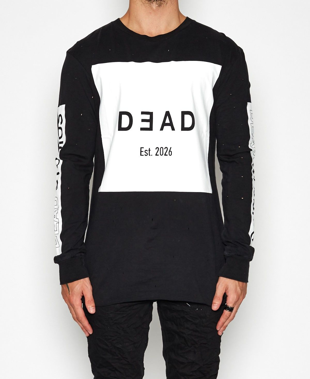 Dead Studios   EST 2026 LS T-Shirt Black All Men s Styles Style Men    Neverland Store 3160c220e7
